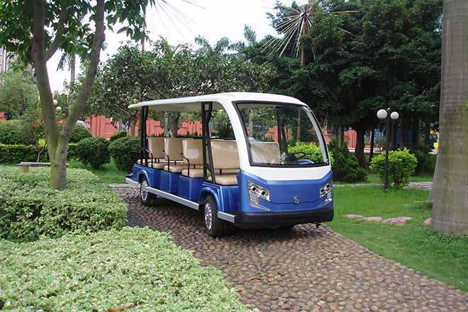 15座电动观光车