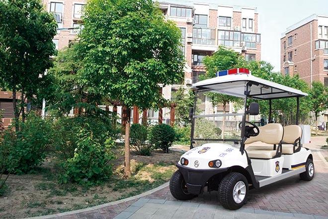 电动巡逻车为巡逻任务提供便利