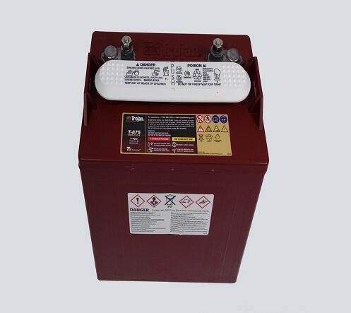 电动观光车电池变形、鼓壳的原因
