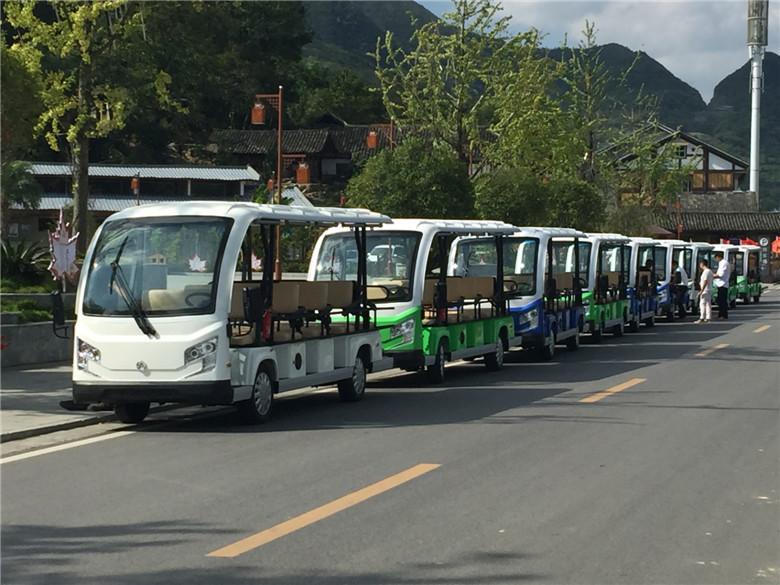 瑞达电动观光车带动景区经济发展