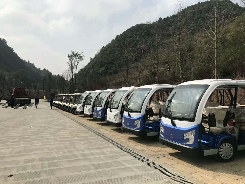 环保电动观光车