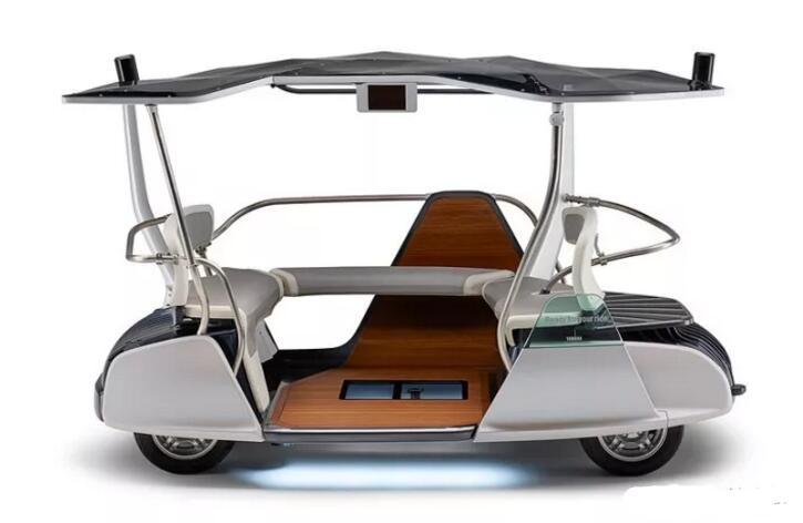雅马哈发动机2017年11月30日宣布配备自动驾驶功能的高尔夫球车
